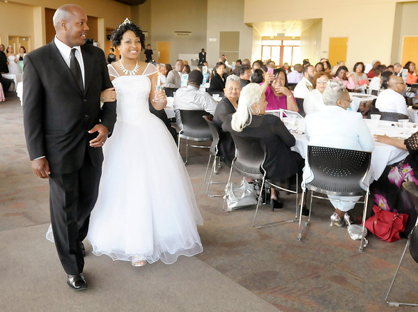 Don Knight | The Herald Bulletin<br /> Debutante Cotillion Beautillion Militaire at Madison Park Church of God on Saturday.