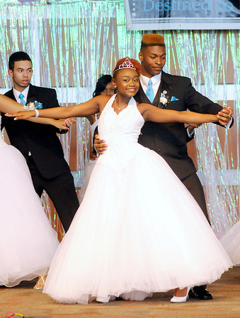 Don Knight   The Herald Bulletin<br /> Debutante Cotillion Beautillion Militaire at Madison Park Church of God on Saturday.