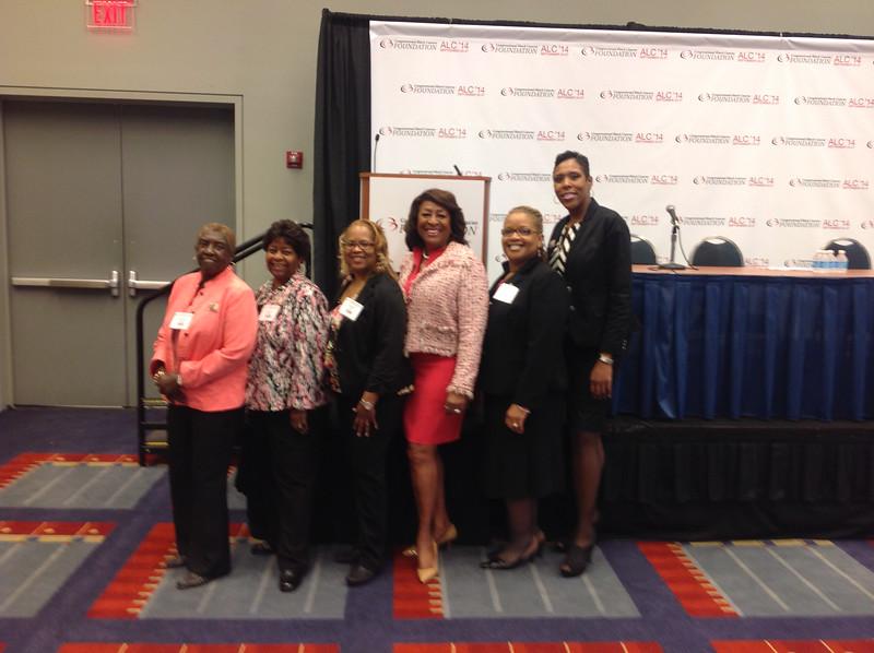 SNCVA members with Founder Karen E. Jackson and Kelly Hodges