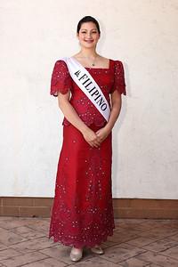 at the Princess reception. photo by Ray RiedelColleen Ziegman, Filipino princess at the Princess reception. photo by Ray Riedel
