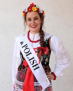 at the Princess reception. photo by Ray RiedelAnastazja Golas, Polish princess at the Princess reception. photo by Ray Riedel