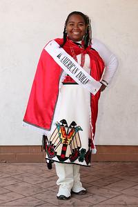 at the Princess reception. photo by Ray RiedelLyric Aquino, American Indian princess at the Princess reception. photo by Ray Riedel
