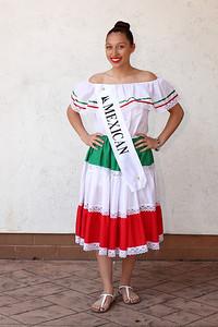 Alena Gnizak, Mexican princess at the Princess reception. photo by Ray Riedel