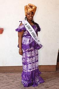 at the Princess reception. photo by Ray RiedelTianna Thomas, African American princess at the Princess reception. photo by Ray Riedel