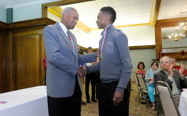 Don Knight   The Herald Bulletin<br /> Johnny Wilson Awards at the Country Club on Wednesday.