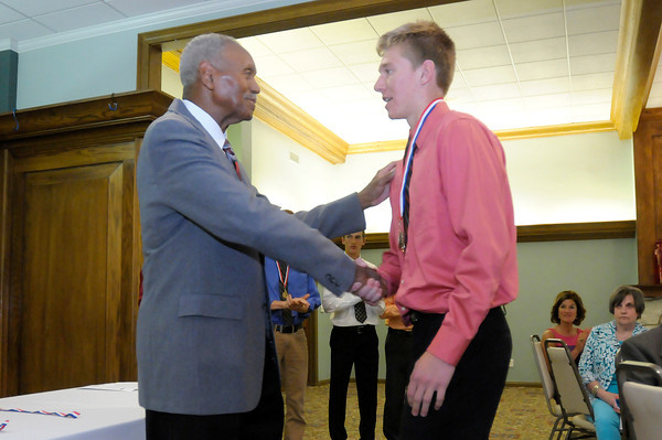 Don Knight | The Herald Bulletin<br /> Johnny Wilson Awards at the Country Club on Wednesday.
