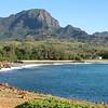 Unspoiled beach, near end of Shipwreck Beach trail