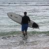 Erik goes surfing