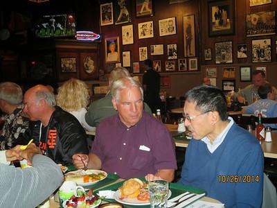 Marc Christiansen, Larry Bingham, Russell Chan
