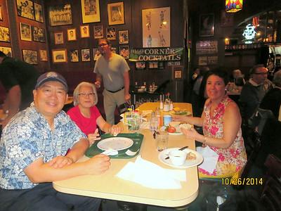 Collin Chu and his wife; Nancy Sheldon