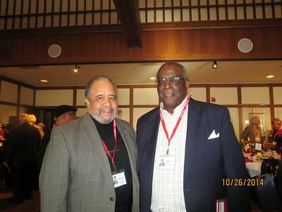 Ron Coleman on left, Mervin Washington on right