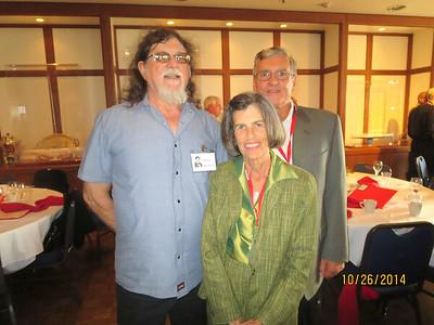 Andy Bernhard, Carol Olmert, Vic Carboni (from kindergarten through Lowell!)