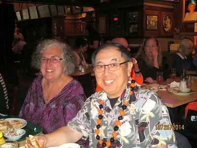 Vivian Sinick and Ronald Quok