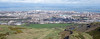 View over Leith from Arthur's Seat 21st March 2014