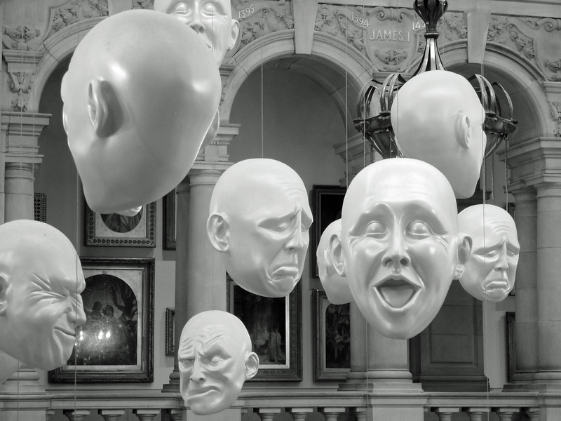 Installation inside Kelvingrove Art Gallery