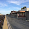 The Salinas train station is abandoned