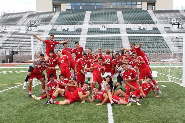 2014 Men's Soccer Team Photos