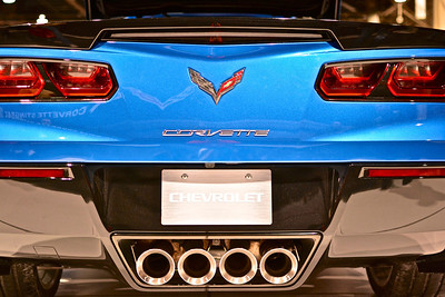 2014 Corvette Stingray Rear End
