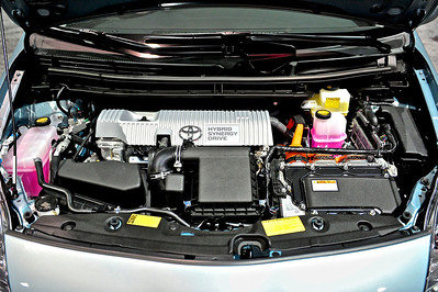 2014 Toyota Prius Engine Compartment