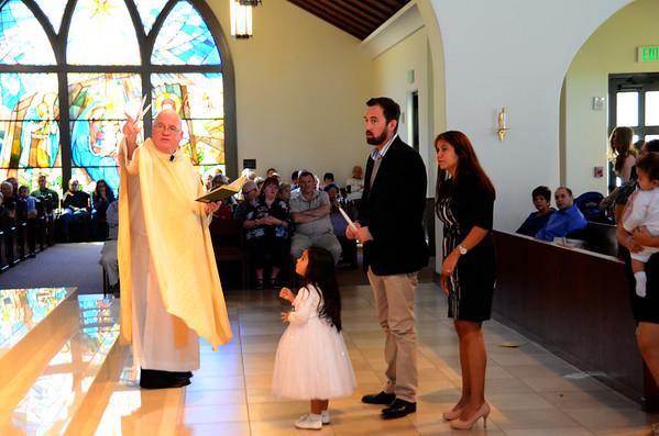 2014 Nov 2 Corpus Christi 10:30 am Mass   Baptisms