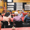John P. Cleary | The Herald Bulletin<br /> Election night at Democrat Headquarters.