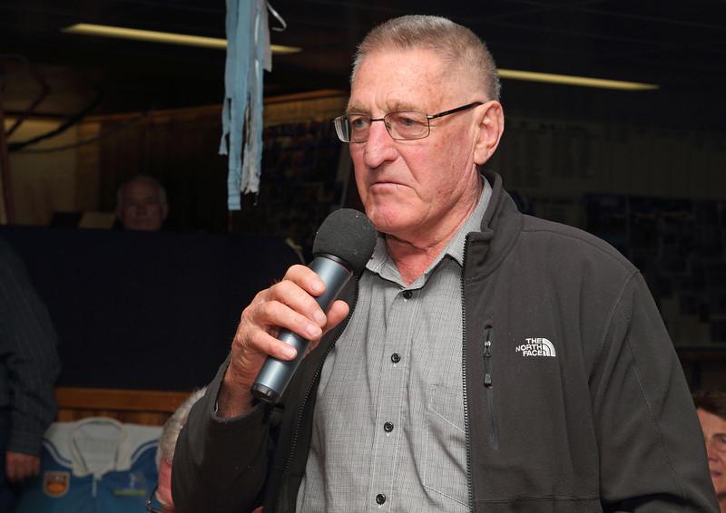 "Peter ""Sluggo"" Vitler, only returning member of the 1963 Binalong team."