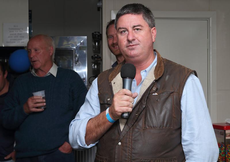 Stan Waldren of Waldren Constructions and current Major Sponsor of The Brahmans.