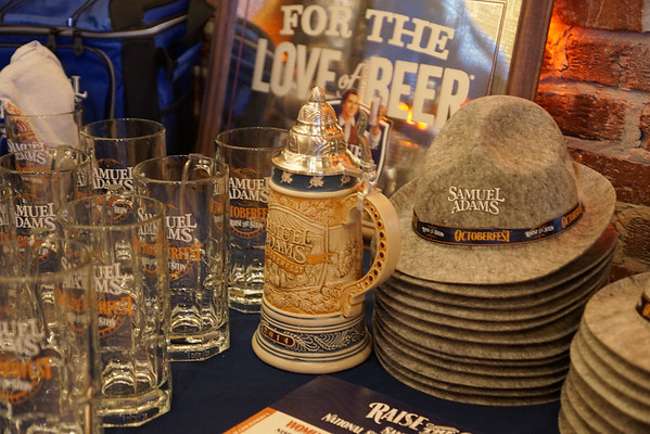 2014 Sam Adams Beer Dinner