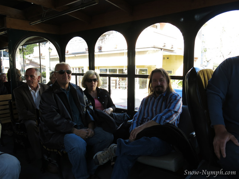 Apr 26, 2014  Two Trolleys and a lead truck took us to the Port San Luis Lighthouse.  Scott sat behind the driver