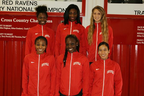 2014 Women's Cross Country Teams
