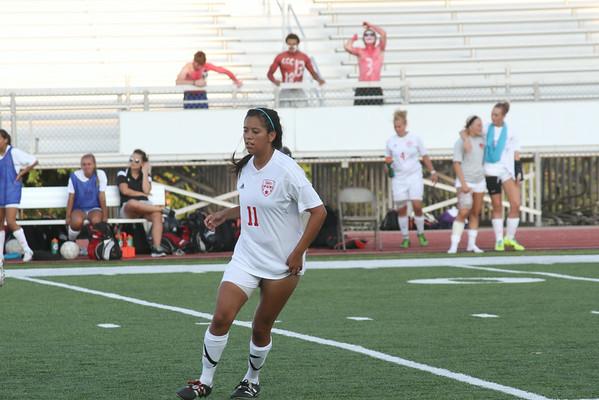 2014 Women's Soccer Action Photos