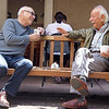 2 men at Peet's Coffee & Tea, Berkeley