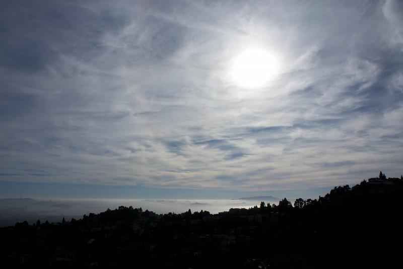 Background left is San Francisco, right is Mt. Tamalpais