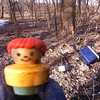 2/1/2014: PVSP at the end of Halethorpe Farm Rd in Baltimore County, between I-895 and the river. Always find toys during cleanups in the floodplain.