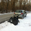 3/5/14: Jon Merryman's cleanup on River Road, A.A. Co., Patapsco River watershed. Found a Christmas tree, pieces of a tv cabinet, and 6 heavy mystery bags. Each of the bags were estimated to be 40-50 lbs each, as they were really heavy! 275 lbs total.