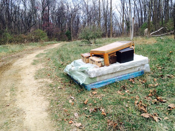 11.22.14 Jon Merryman...cleanup at Hollins Ferry Road in Halethorpe, Baltimore County, Herbert Run subwatershed. Picture two.  Details of total trash found on this day found in previous 11.22.14 description.