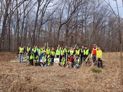 3.22.14 Tree Maintenance in Rockburn Branch Patapsco State Park off Landing Road