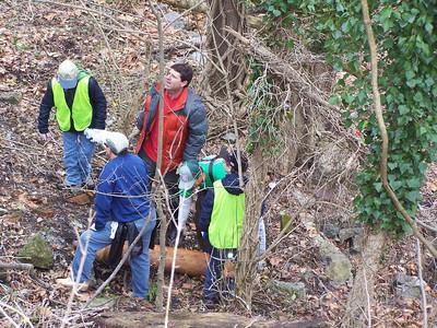 4.6.14 Stream/Road  Cleanup along New Cut Road (Wild Cat Creek) in Ellicott City
