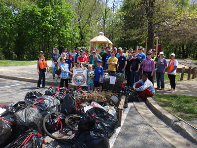 5.3.14 Cleanup Along Sawmill Branch in Catonsville Park