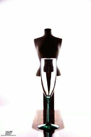 Champagne flute (colour)