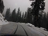 Apr 4, snow on Hwy 168.   Last snow I'll see this winter/spring.