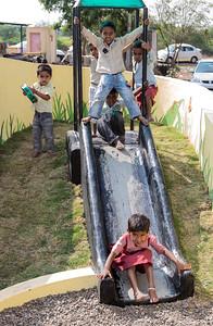 Children playing in Sherevasti-Anganwadi.