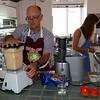 John Thornton and Fanny making melon custard icecream