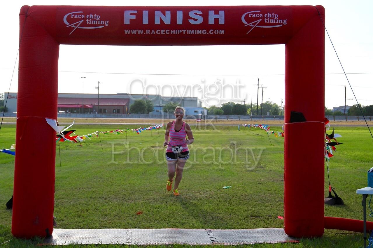 Monica Ames, 5K Milk Run
