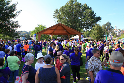 Well over 3,500 walkers, families, friends, and supporters came together at the  Pilgrim Memorial State Park last Saturday morning for the 2015 Walk to End Alzheimer's event.