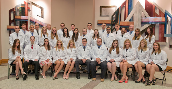 2015 Doctor of Physical Therapy Whitecoat Ceremony