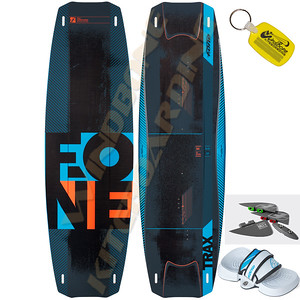 2015 Fone Trax HRD Carbon Kiteboard TwinTip Kitesurfing