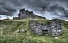 Auchindoun Castle on Sunday 18th October 2015