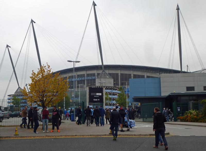 Etihad Stadium, Manchester on Saturday 3rd October 2015