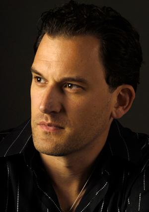 Baritone Morgan Smith is Marcello in San Diego Opera's LA BOHEME. January/February 2015.